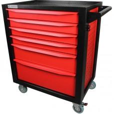 GARWIN 001016R Тележка инструментальная серии Standart 6 полочная красная