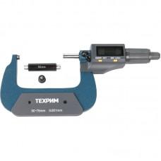 ТЕХРИМ T050013 Микрометр МКЦ-75, 75 мм - 0,001, ГОСТ 6507-90