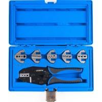 Licota ACP-10001 Клещи для обжимки клемм в наборе с 6-ю губками