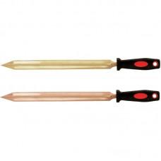 GARWIN GSS-YD04 Шабер треугольного сечения с пластиковой ручкой искробезопасный 300х400 мм