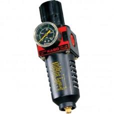 """Licota PAP-C616C Фильтр для воздуха с регулятором давления и манометром, 1/2"""", усиленный"""