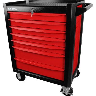 GARWIN 001020-3000 Тележка инструментальная серии Industrial 7 полочная красная