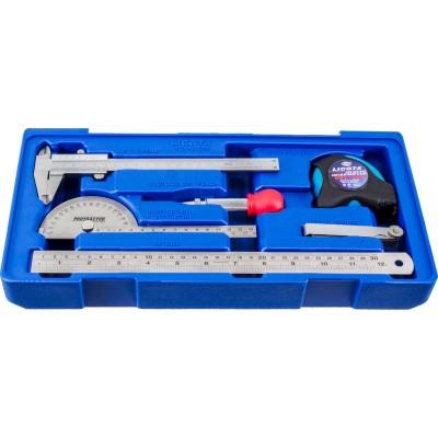 Licota ACK-B3019 Набор измерительного инструмента, в ложементе-кейсе, 6 пр.