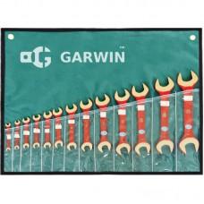 GARWIN GSK-0110 Набор ключей рожковых искробезопасных 8х10-30х32 мм, 10пр.