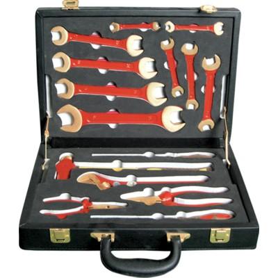 GARWIN GSK-0615 Набор инструментов искробезопасных 15 пр., в кейсе