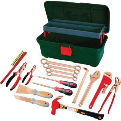 GARWIN GSK-0716 Набор инструментов искробезопасных 16пр., в пластиковом ящике