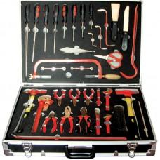 GARWIN GSK-1236 Набор инструментов искробезопасных 36пр., в алюминиевом кейсе
