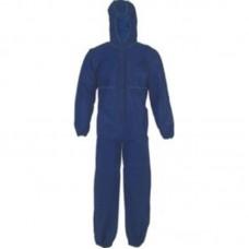 GARWIN 961015-60 Комбинезон одноразовый защитный с капюшоном, спанбонд, синий, 50г/м2, размер XXXL