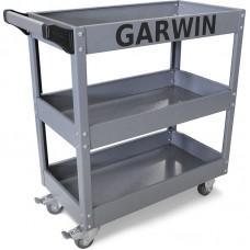 GARWIN GTT-07D03 Тележка с тремя открытыми полками, серая