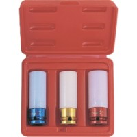 Licota ASA-10001 Набор ударных головок для литых дисков 17, 19, 21 мм в кейсе