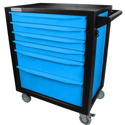 GARWIN 001016-5015 Тележка инструментальная серии Standart 6 полочная синяя