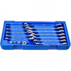 Licota ACK-B3016 Набор ключей комбинированных трещоточных, 8 - 19 мм, в ложементе-кейсе, 16 пр.