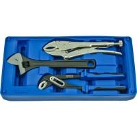 Licota ACK-B3012 Набор: ручные тиски, переставные клещи, разводной ключ, в ложементе-кейсе