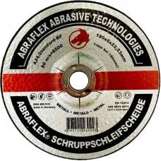 Abraflex УТ0007756 Круг зачистной 180x6,0x22,23 A24 S-BF27 металл