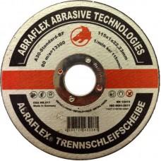 Abraflex УТ0007505 Круг отрезной 115x1,0x22,23 A30 S-BF41 мет/нерж