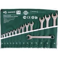 GARWIN GR-ECK014 Набор ключей комбинированных 14 предметов 10-32 мм