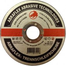 Abraflex УТ0007506 Круг отрезной 115x1,2x22,23 A30 S-BF41 мет/нерж