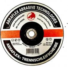 Abraflex УТ0007757 Круг зачистной 230x6,0x22,23 A24 S-BF27 металл