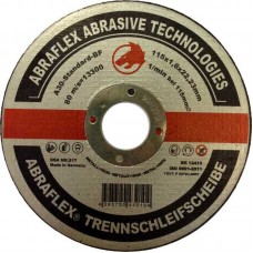 Abraflex УТ0007507 Круг отрезной 115x1,6x22,23 A30 S-BF41 мет/нерж