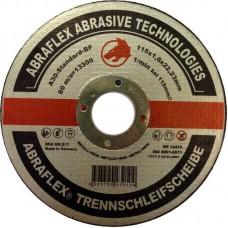 Abraflex УТ0007508 Круг отрезной 115x2,5x22,23 A30 S-BF41 мет/нерж