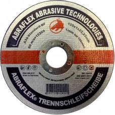 Abraflex УТ0007462 Круг отрезной 125x1,0x22,23 A30 S-BF41 мет/нерж