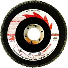 Abraflex УТ0007778 Круг лепестковый торцевой 125х22 FLD-20 P100
