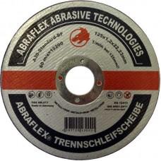 Abraflex УТ0007364 Круг отрезной 125x1,2x22,23 A30 S-BF41 мет/нерж