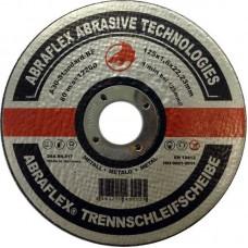 Abraflex УТ0007463 Круг отрезной 125x1,6x22,23 A30 S-BF41 мет/нерж