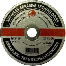 Abraflex УТ0007509 Круг отрезной 150x1,6x22,23 A30 S-BF41 мет/нерж