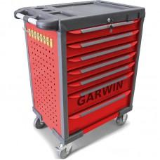 GARWIN GTT-01D07T-R Тележка инструментальная, 7 полок, красная