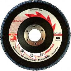 Abraflex УТ0008252 Круг лепестковый торцевой 125х22 FLD-10 INOX P80