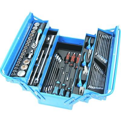 Licota AHB-533K01 Набор инструмента в металлическом ящике 57 предметов