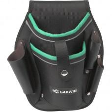 GARWIN GA-TP03 Сумка для шуруповерта поясная, 2 кармана