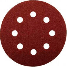 Abraflex 940180-125*600 Самозацепляемый шлифовальный круг, 8 отверстий VAD8 D125 P600