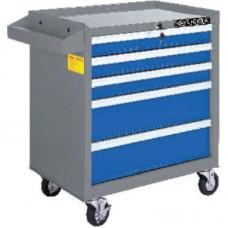 Licota AWX-2602BS Тележка инструментальная, 5 полок, сине-серая