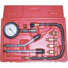Licota ATP-2075 Компрессометр бензиновый, набор с гибкой, 2-мя жесткими насадками и переходниками
