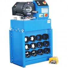 """ТЕХРИМ 819515-3 Опрессовочный станок для рукавов высокого давления электрогидравлический, 1-1/2""""-4SP, 4-65мм, 170т."""