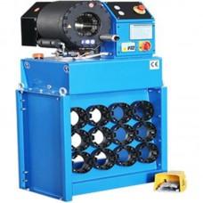 """ТЕХРИМ 819515-5 Опрессовочный станок для рукавов высокого давления  электрогидравлический, 2""""-4SP, 4-87мм, 220т."""