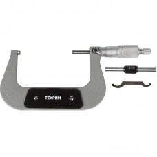 ТЕХРИМ T050008 Микрометр МК-100, 100 мм - 0.01 КЛ.1, ГОСТ 6507-90