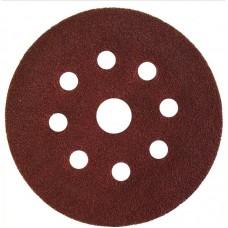 Abraflex 940182-125*180 Самозацепляемый шлифовальный круг, 9 отверстий VAD8+1 D125 P180