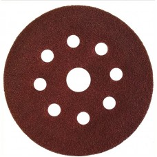 Abraflex 940182-125*240 Самозацепляемый шлифовальный круг, 9 отверстий VAD8+1 D125 P240