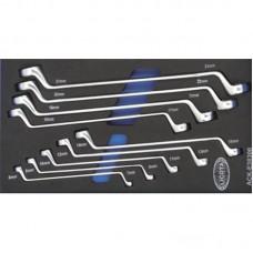 Licota ACK-E38306 Набор ключей накидных 6 - 23 мм 9 пр. EVA