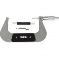 ТЕХРИМ T050009 Микрометр МК-125, 125 мм - 0.01 КЛ.1, ГОСТ 6507-90