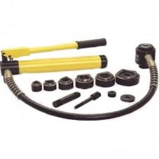 ТЕХРИМ 815060-10 Пресс гидравлический для перфорации листа; с насосом; 3,5 мм; 10 т