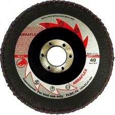 Abraflex УТ0007921 Круг лепестковый торцевой 125х22 FLDC-10  P40
