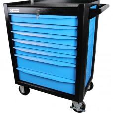 GARWIN 001020B Тележка инструментальная серии Industrial 7 полочная синяя