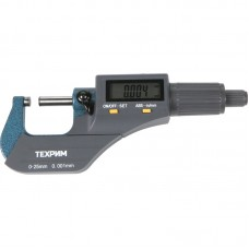 ТЕХРИМ T050011 Микрометр МКЦ-25, 25 мм - 0,001, ГОСТ 6507-90