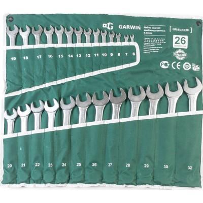 GARWIN GR-ECK026 Набор ключей комбинированных 26 предметов 6-32 мм